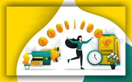 如何在Olymp Trade中提款和存钱